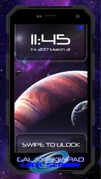Galaxy Keypad Lock Screen apk screenshot