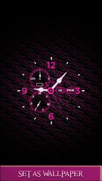 Live Clock Wallpaper HD poster