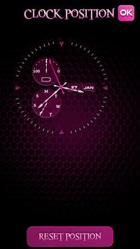 Live Clock Wallpaper HD apk screenshot