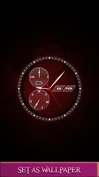 Live Clock Wallpaper HD screenshot 5