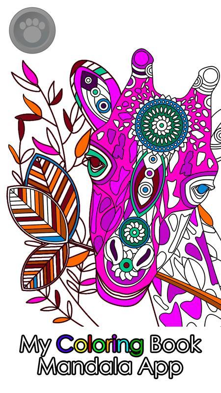 My Coloring Book Mandala App Apk Screenshot