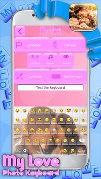 My Love Photo Keyboard screenshot 1