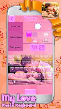 My Love Photo Keyboard screenshot 3