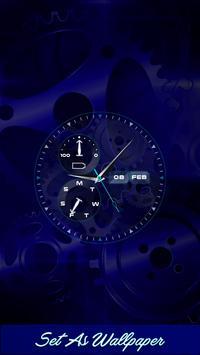 Time Clock Live Wallpaper poster
