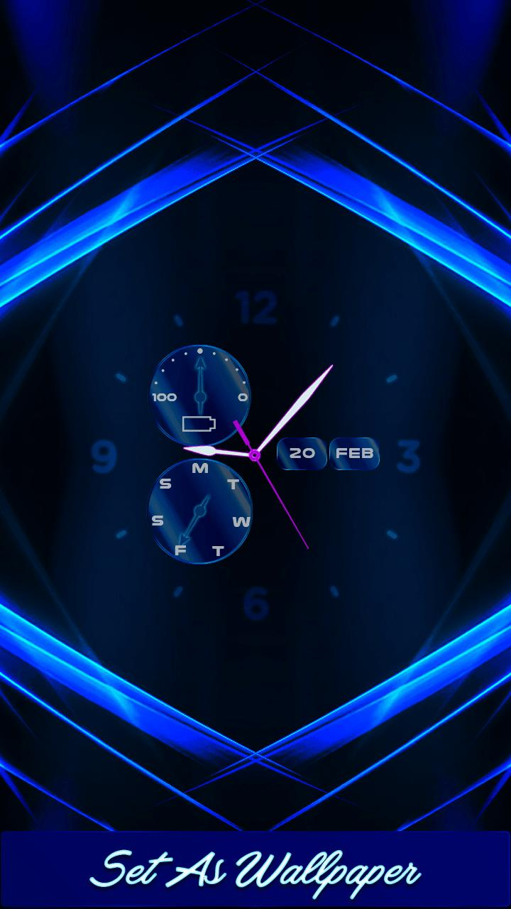 Time Clock Live Wallpaper For Android Apk Download