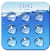 Water Lock Screen Password icon
