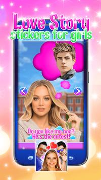 Love Story Stickers for Girls screenshot 3