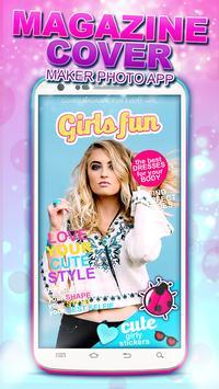 Magazine Cover Maker Photo App poster