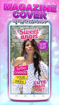 Magazine Cover Maker Photo App screenshot 4