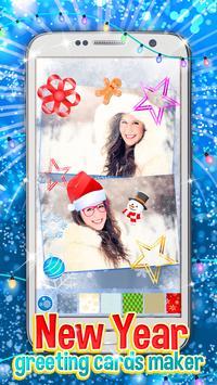 New Year Greeting Cards Maker apk screenshot
