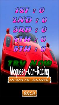 Mcqueen Car Game PRO apk screenshot