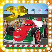 Mcqueen Car Racing 3D icon