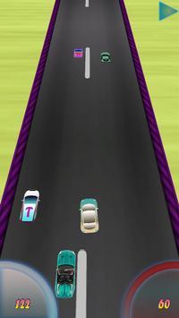 Mcqueen Car Racing 3D poster