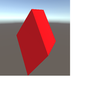 Vibrating Red Cube icon