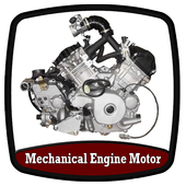 Mechanical Engine Motor icon