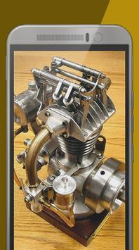 Mechanical Engine Motor poster