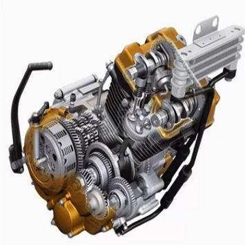 Best Motorcycle Engine Mechanism poster