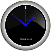 analog clock live icon