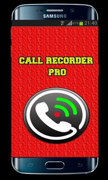 Automatic call recorder poster