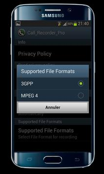 Automatic call recorder screenshot 2
