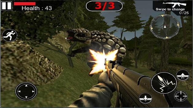 Dinosaurs Hunter 2017 apk screenshot