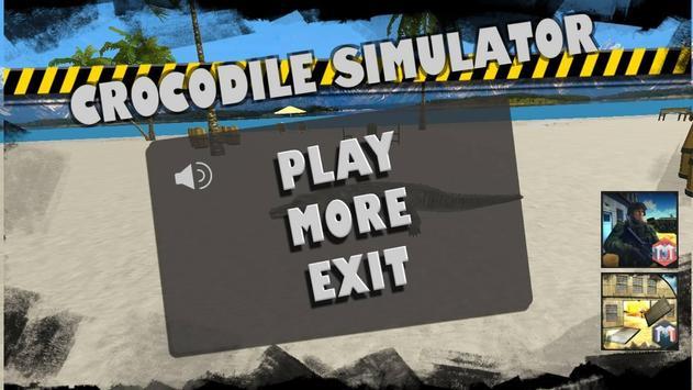 Crocodile Simulator:Attack 3D poster