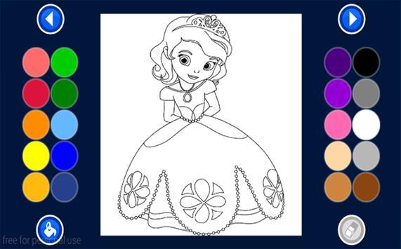 Girls Coloring Book Apk Screenshot