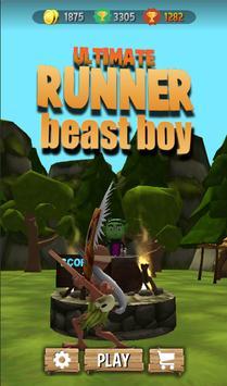 Beast Boy Endless Jungle Run poster