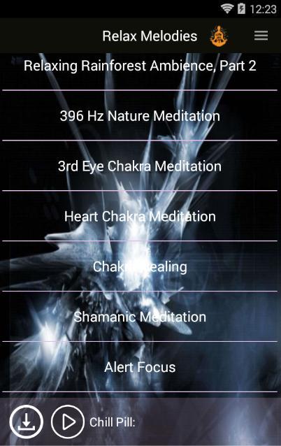 Relax Meditation: Sleep with Sleep Sounds for Android - APK
