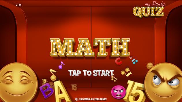 Math game / My Math Quiz poster