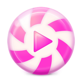Pink Music Player icon