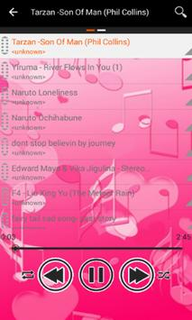 Pink Music Player apk screenshot