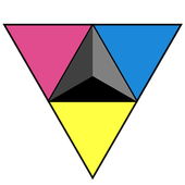 Triangles icon