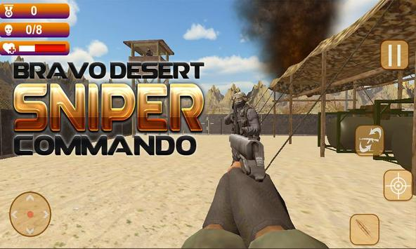 Bravo Desert Sniper Commando poster