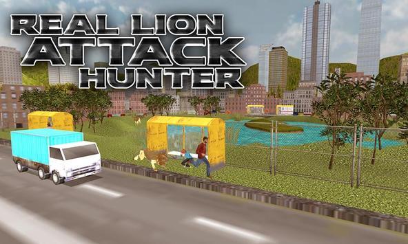 Real Lion Attack Hunter apk screenshot
