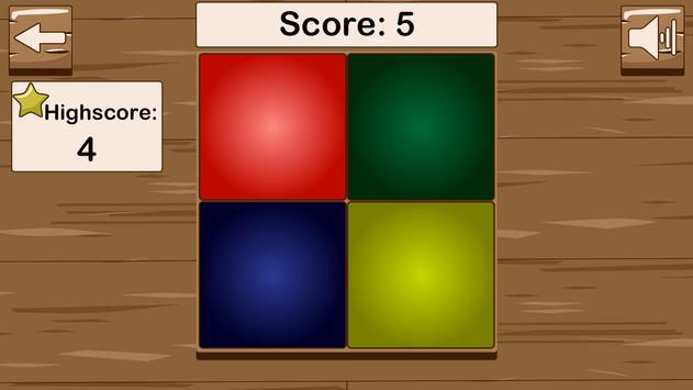 Kleuren geheugentrainer captura de pantalla 1