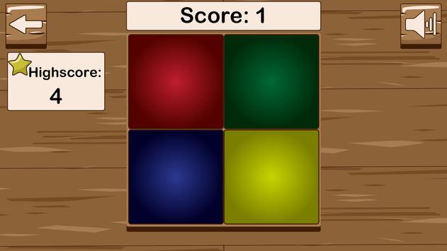 Kleuren geheugentrainer captura de pantalla 5