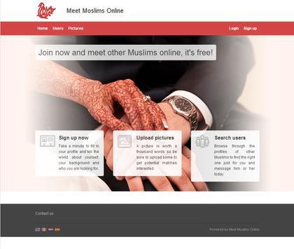 Meet Muslims Online apk screenshot