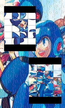 Mega Man Puzzle poster