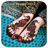 Mehndi Design For Feet icon