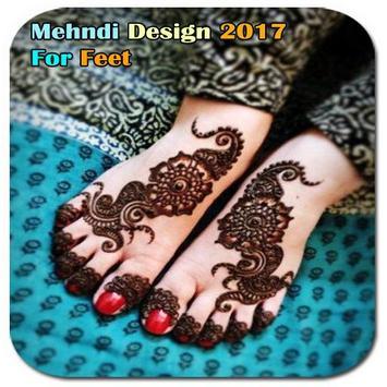 Mehndi Design For Feet poster
