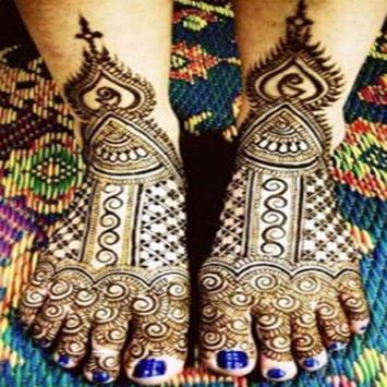 Mehndi Design For Feet screenshot 6