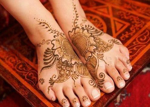 Mehndi Designs For Foot screenshot 1