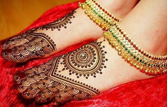 Mehndi Designs For Foot screenshot 2
