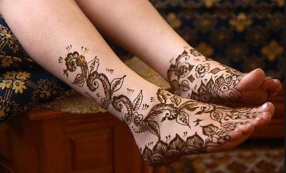 Mehndi Designs For Foot screenshot 4