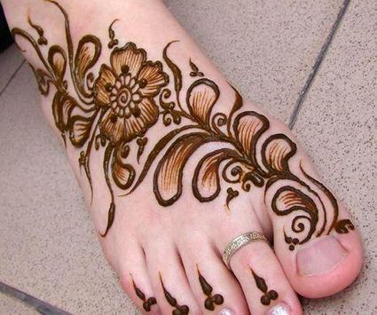 Mehndi Designs For Foot screenshot 5