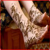 Mehndi Design For Foot icon