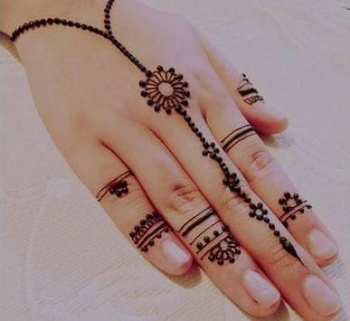 Mehndi Henna Art  Design poster