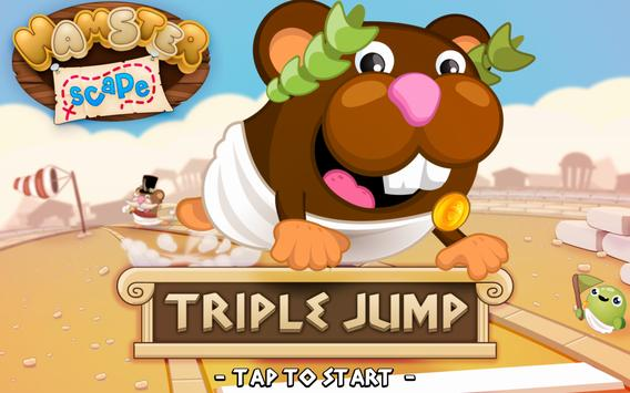 Hamsterscape: Triple Jump apk screenshot