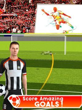 Football Cup Games Goal Kick Shoot Soccer Europe screenshot 2